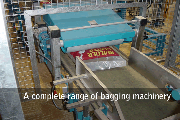 A complete range of bagging machinery